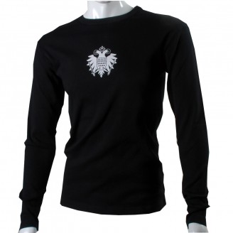 Black Long Sleeve With White Speicher Logo