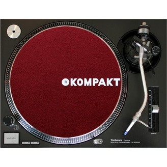 Kompakt Slipmat Bordeaux