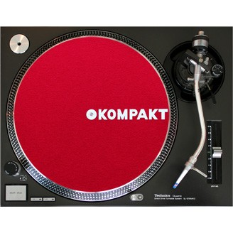 Kompakt Slipmat Red