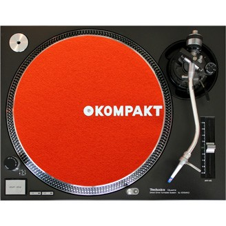 Kompakt Slipmat Orange