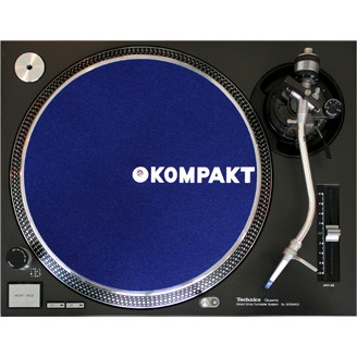 Kompakt Slipmat Dark Blue