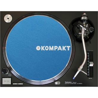 Kompakt Slipmat Light Blue