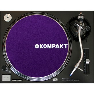 Kompakt Slipmat Purple