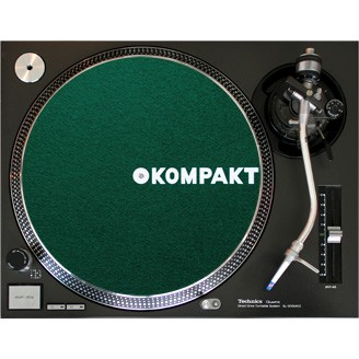 Kompakt Slipmat Dark Green
