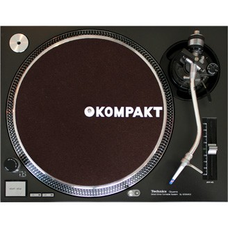 Kompakt Slipmat Brown