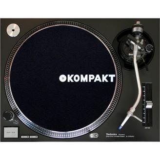 Kompakt Slipmat Black