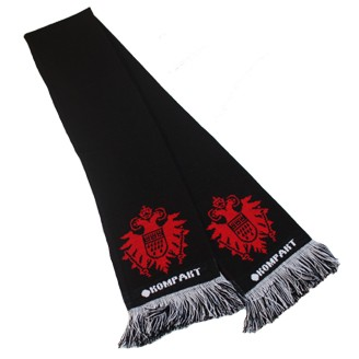 Black Kompakt Fan Scarf