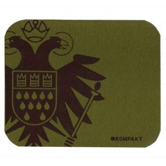 Olive Mousepad With Speicher/kompakt Logo