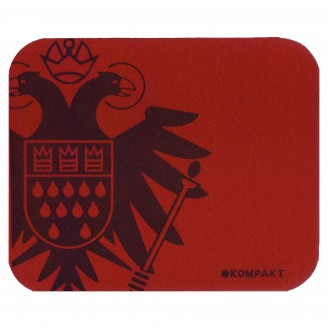 Dark Red Mousepad With Speicher/kompakt Logo