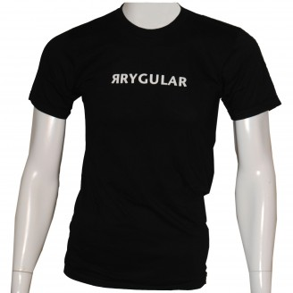 Rrygular T-Shirt Black