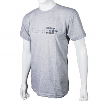T-Shirt With Ostgut Logo Grey