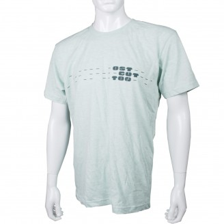 T-Shirt With Ostgut Logo Lime